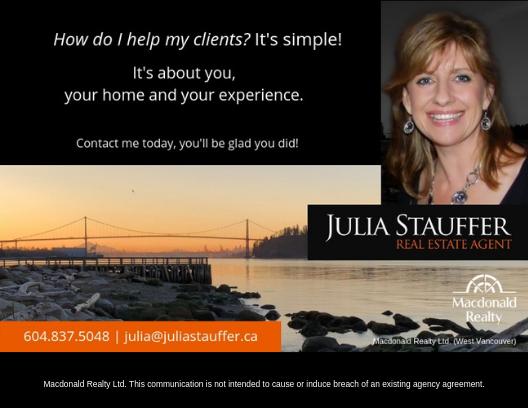 Julia Stauffer - helping clients