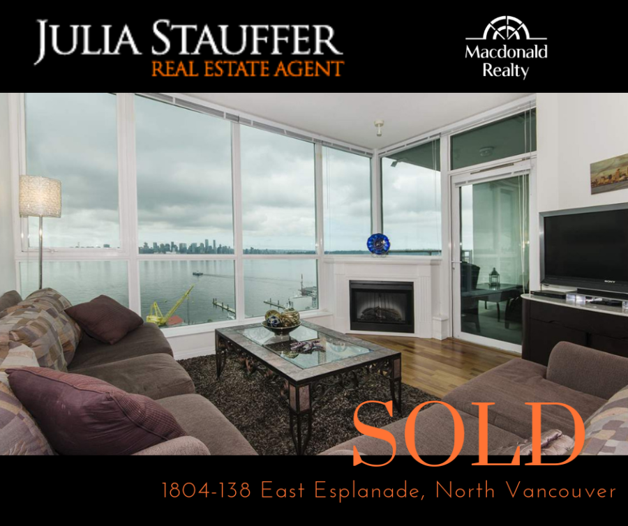 Sold 1804 - 138 East Esplanade, North Vancouver