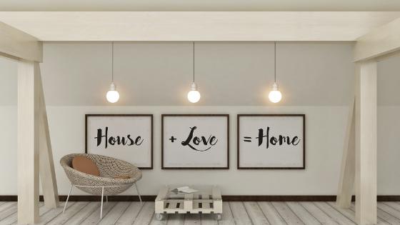 Julia Stauffer House + love = home
