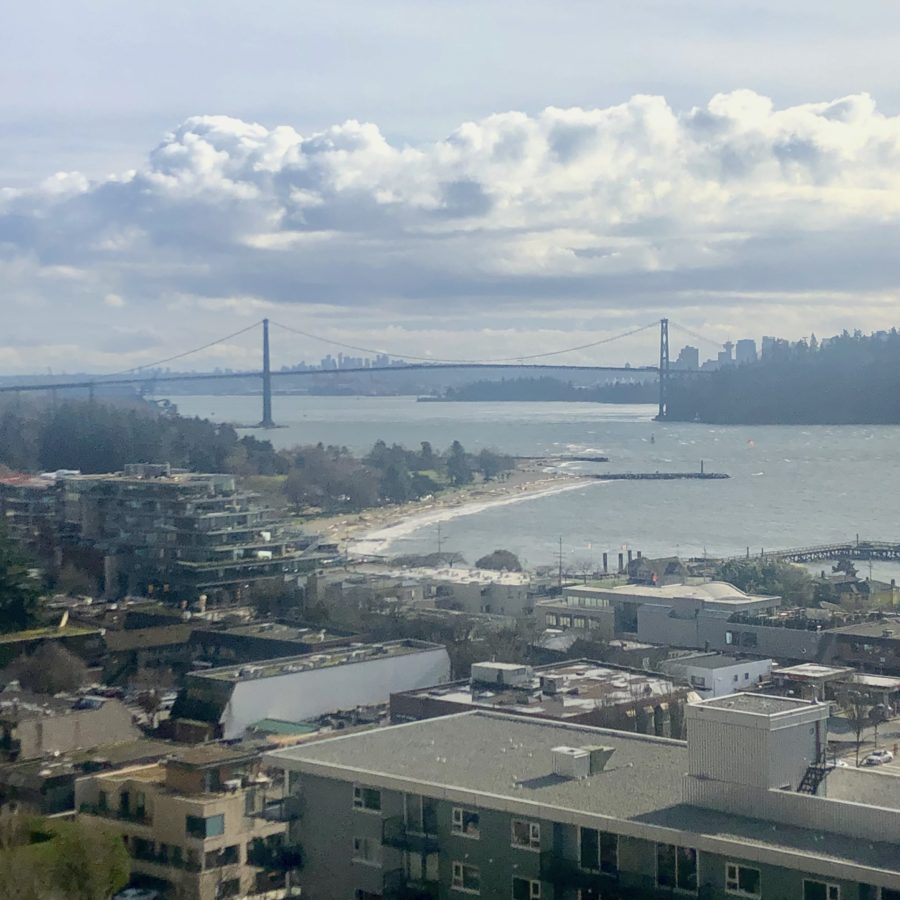 View from 1403 - 650 16th Street, Wets Vancouver