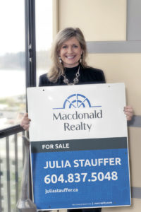Julia Stauffer selling homes