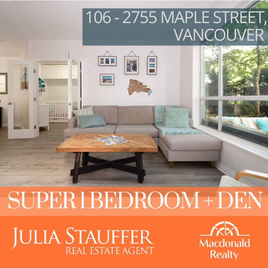 New Listing 106 - 2755 Maple Street